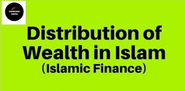 Distribution of wealth in Islam