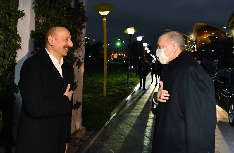 Erdogan in Azerbaijan to hail 'glorious' Karabakh victory