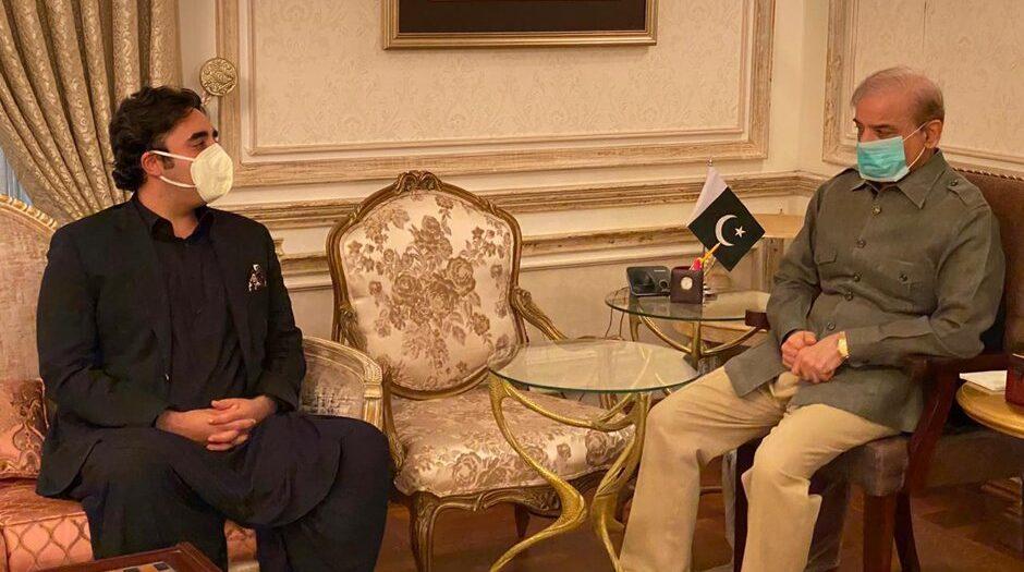 Shehbaz advises Bilawal to hold talks with govt