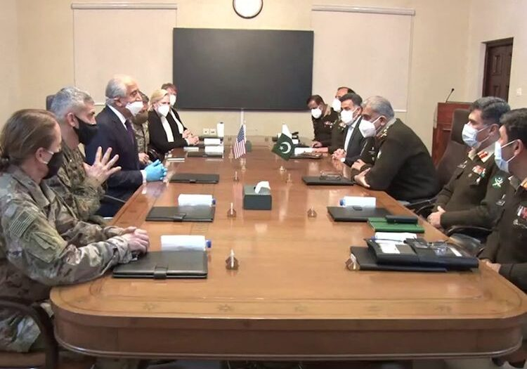 Top US officials hold talks with Pakistan army chief Gen Bajwa