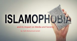 Islamophobia and its impact on Media and Society